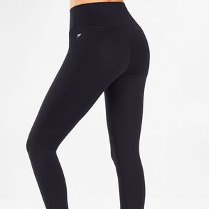 Black high waisted fabletics leggings